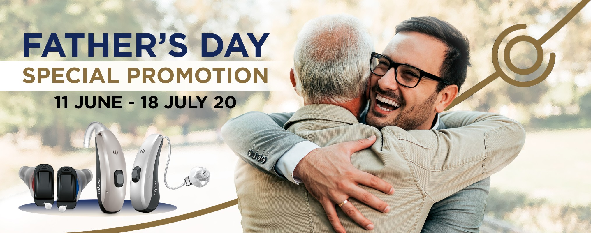 Father's Day Promotion - Desktop