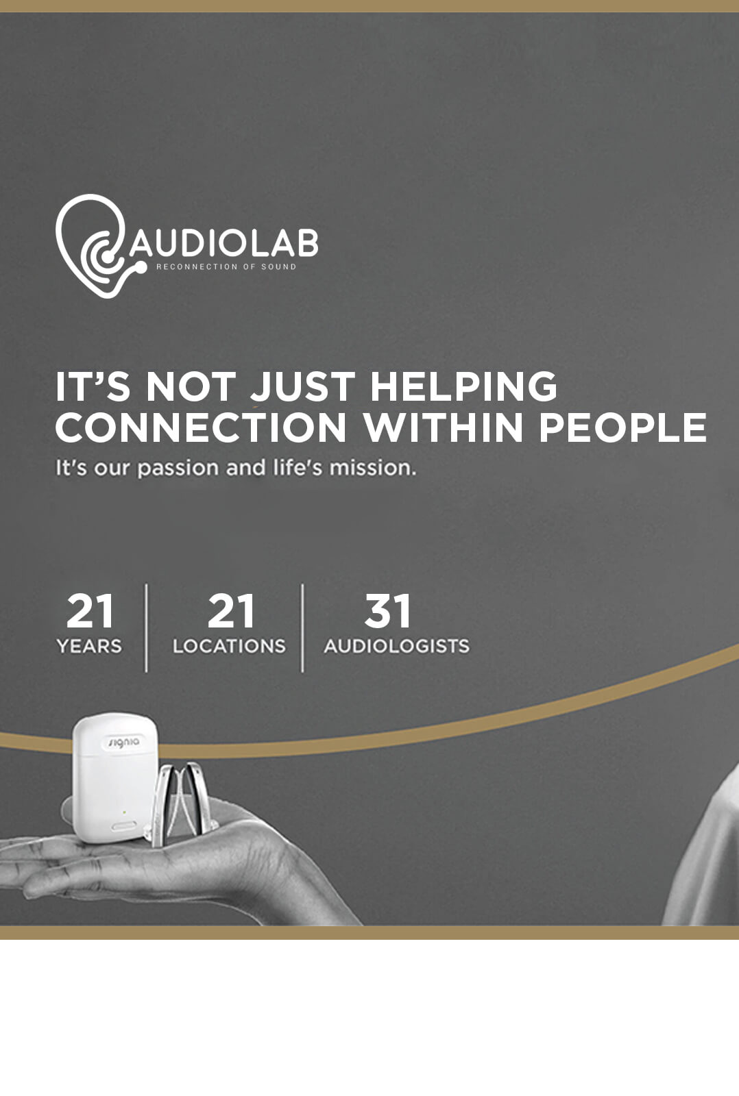 Audiolab Profile - Mobile